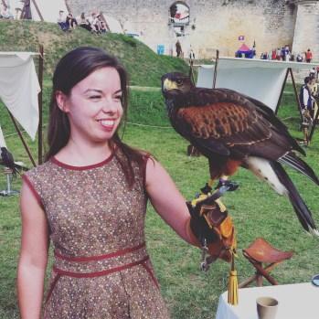 J'ai porté un faucon ♥
