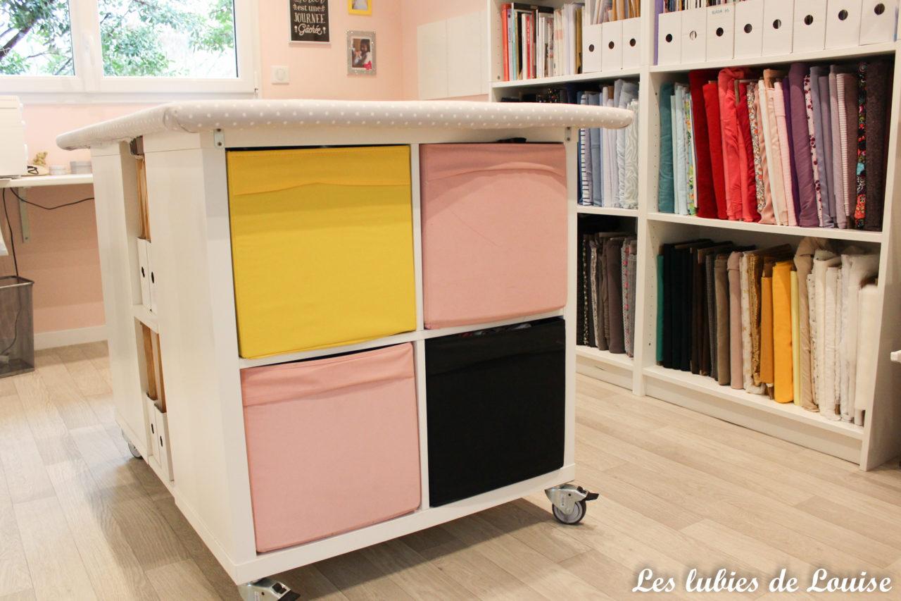 Bureau pour faire de la couture mon atelier couture les lubies de
