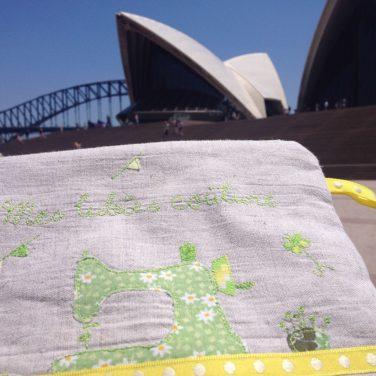 Oh une de mes trousse voyage en Australie !