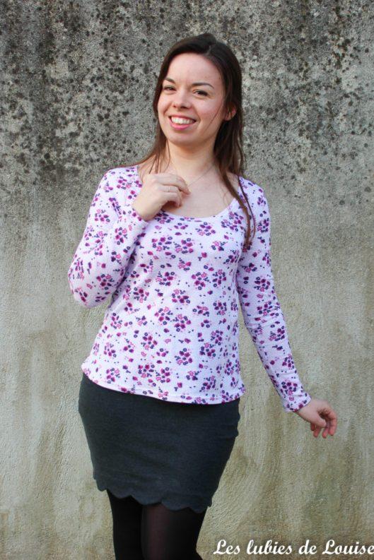 T-shirt plantain et jupe Manathan- les lubies de louise-12