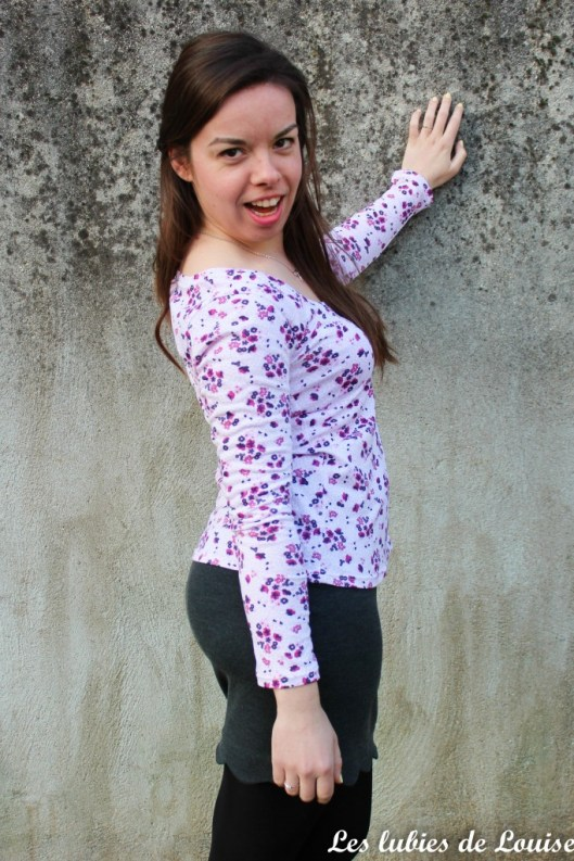 T-shirt plantain et jupe Manathan- les lubies de louise-21