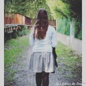 Ma jupe Chardon est sur le blog