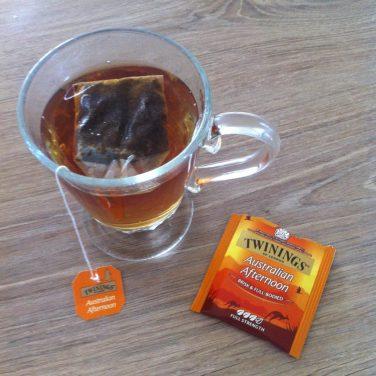 Le thé qui vient de l'autre bout du monde ! Merci les copains ♥