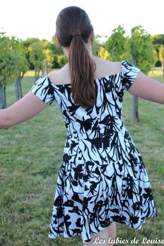 Seda dress pauline alice black and white- les lubies de louise-16