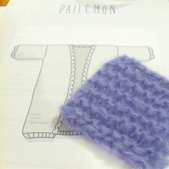 Nouveau projet tricot !