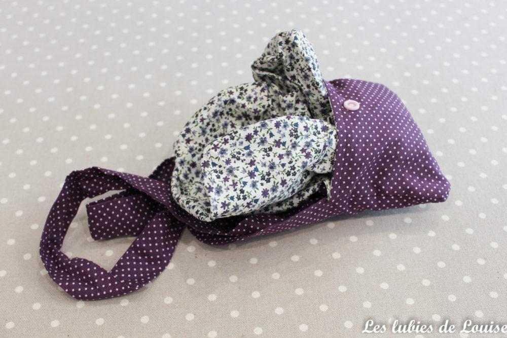 Un sac pliable pour les courses diy les lubies de louise for De couture en tissus