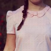 Ma blouse est sur le blog !
