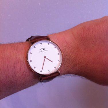 Nouvelle montre !