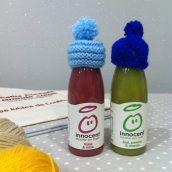Des petits bonnets tricotés