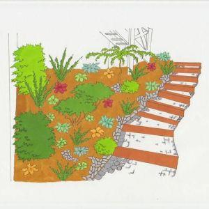 jardin allée jardinier