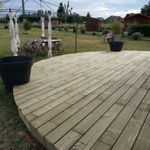 jardinier rouen terrasse bois
