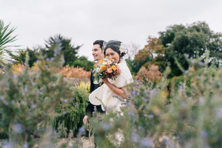 mariage angers jardin