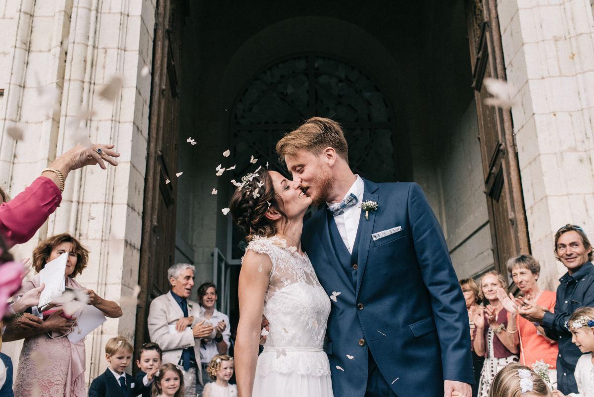mariage église de Saumur, mariage religieux, photographe mariage Saumur