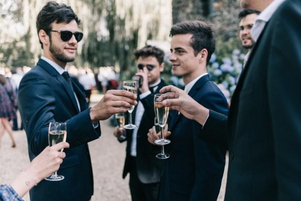 Mariage bohème-chic en Anjou - cocktail