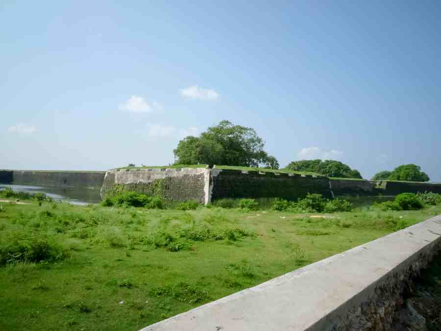 Dutch fort au sri lanka à Jaffna