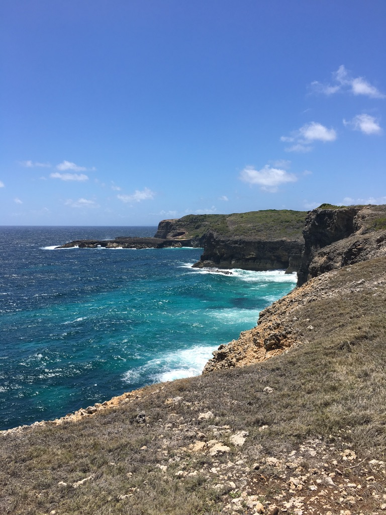 eau-bleue-turquoise-sentier-douaniers-guadeloupe-caraibes
