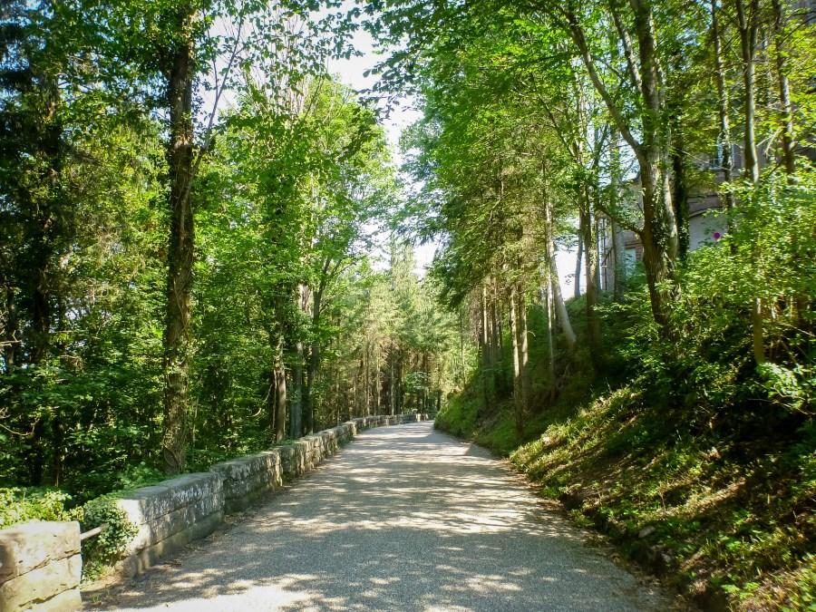 route des vins-alsace-france-mont saint odile-pelerinage-monastere-source-eau-route-randonnée
