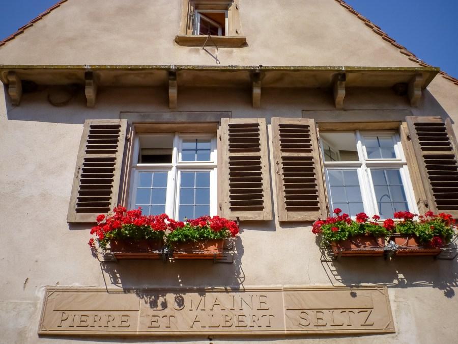 route des vins-alsace-france-mittelbergheim-rue-village-maison-allemande