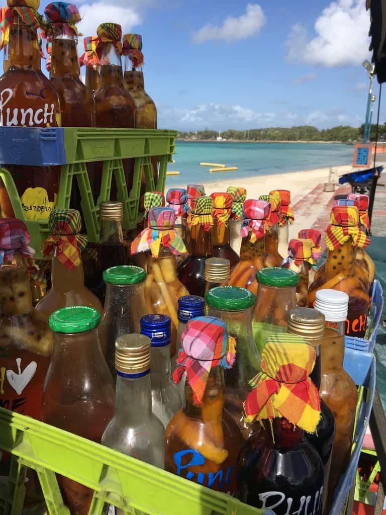 marché-sainte anne-guadeloupe-caraibes-rhum-plage