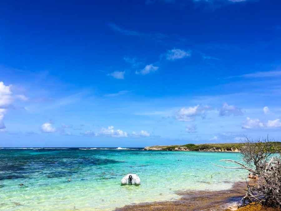 ile-petite terre-guadeloupe-caraibes-mer-nuances-bleus