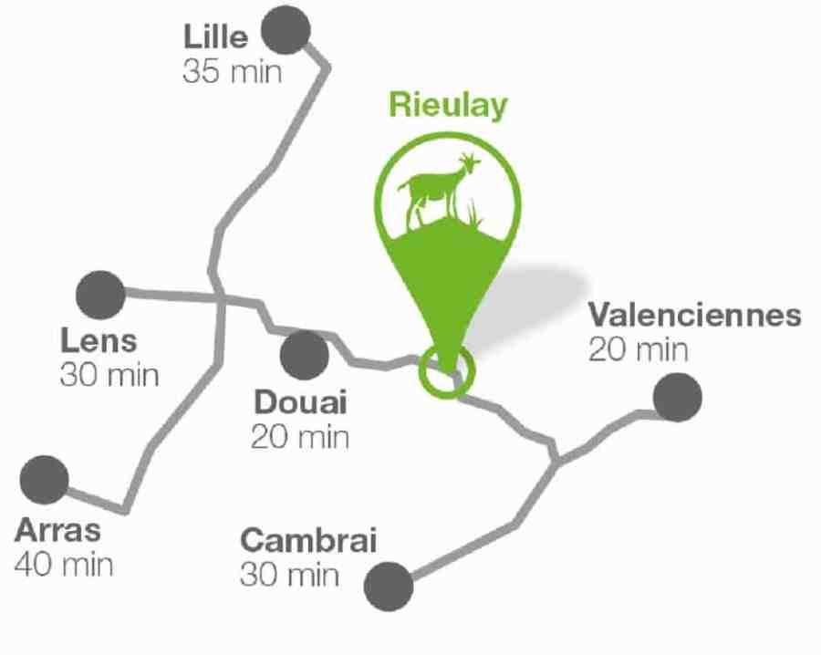chevrerie-rieulay-hauts de france-valenciennes-terril-bio-plan-situation-geographique