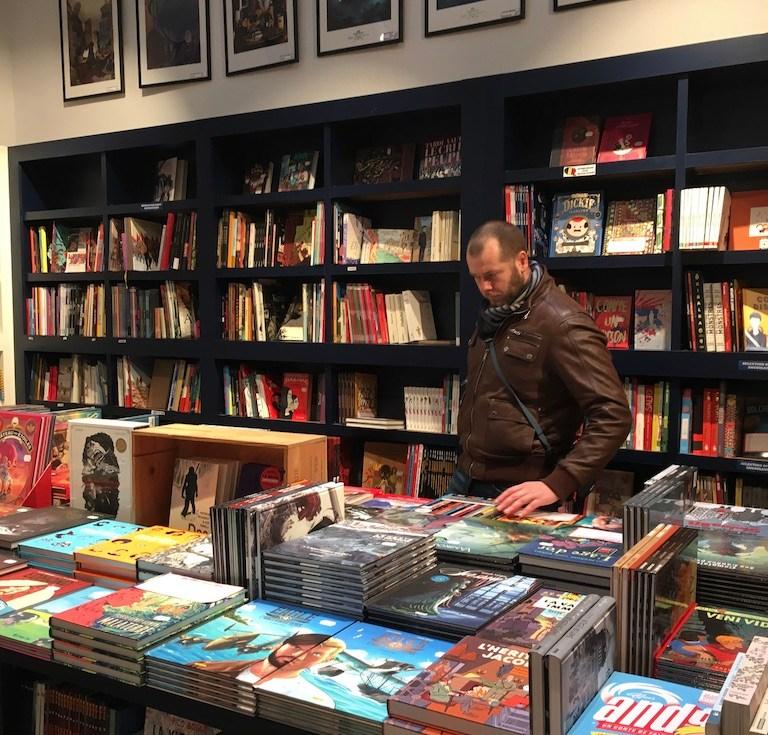 Bruxelles-belgique-bande dessinée-boutique