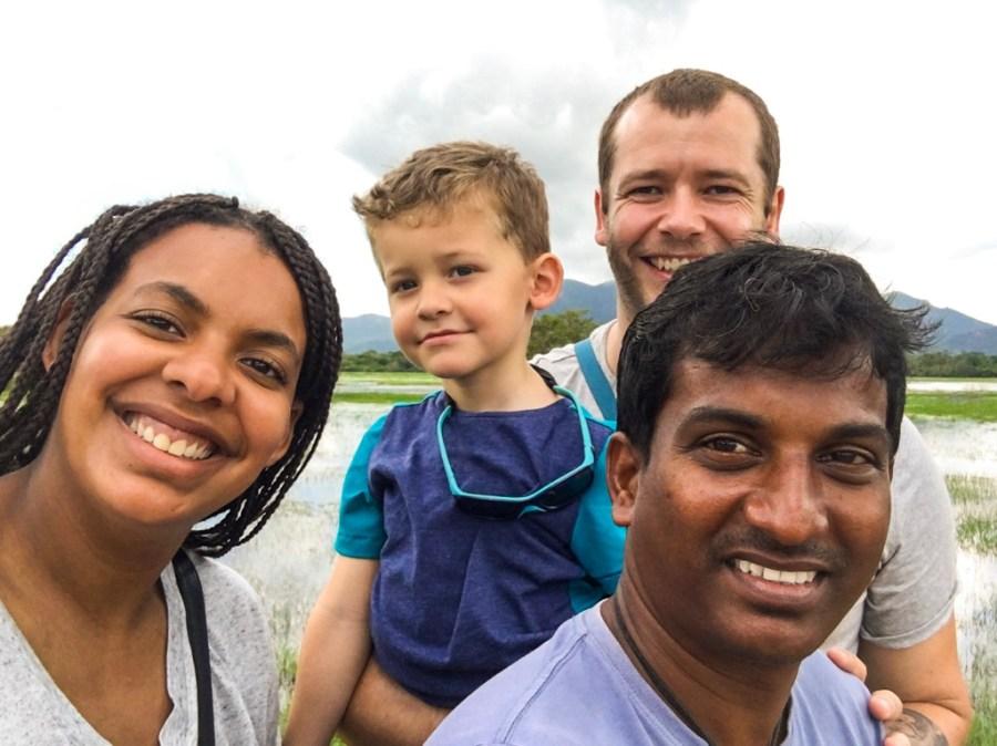 Notre chauffeur d'Anuradhapura à Sigiriya