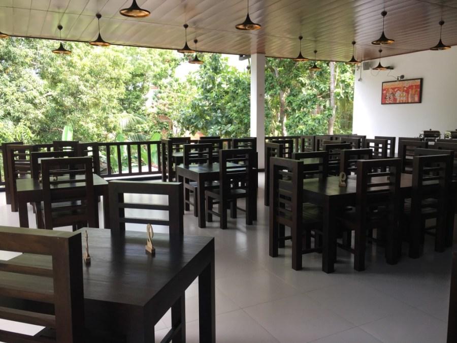 Restaurant de notre guest-house