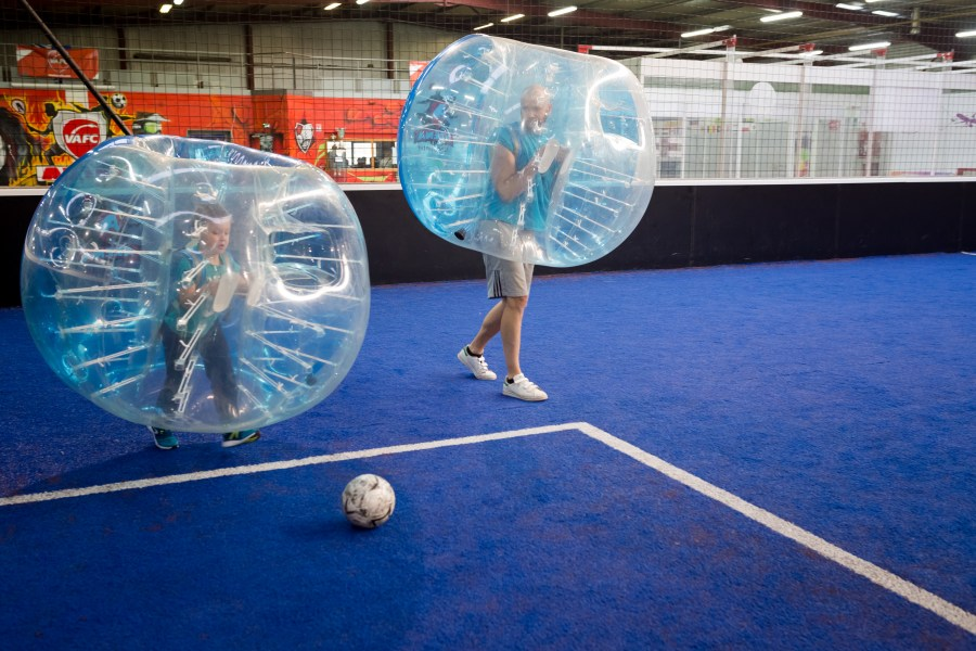 Bubble foot à Valenciennes