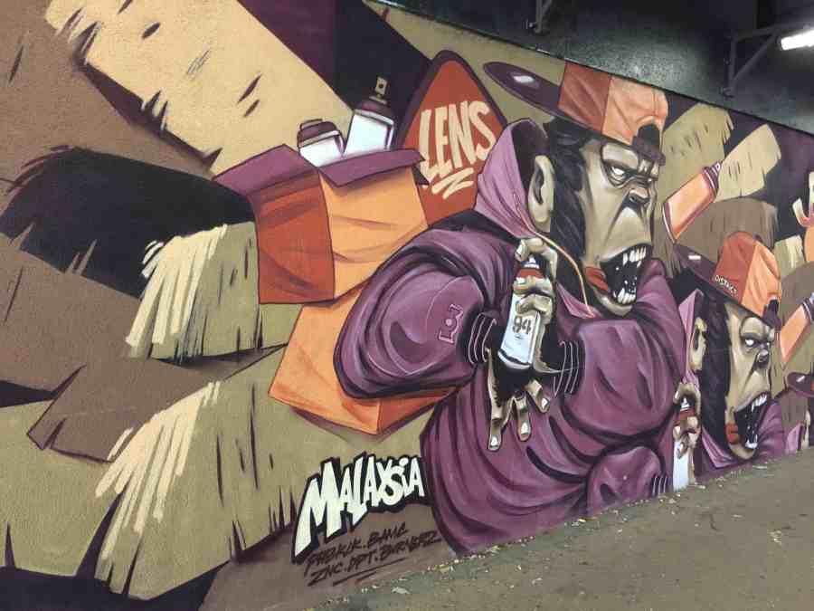 Graffiti à Lens