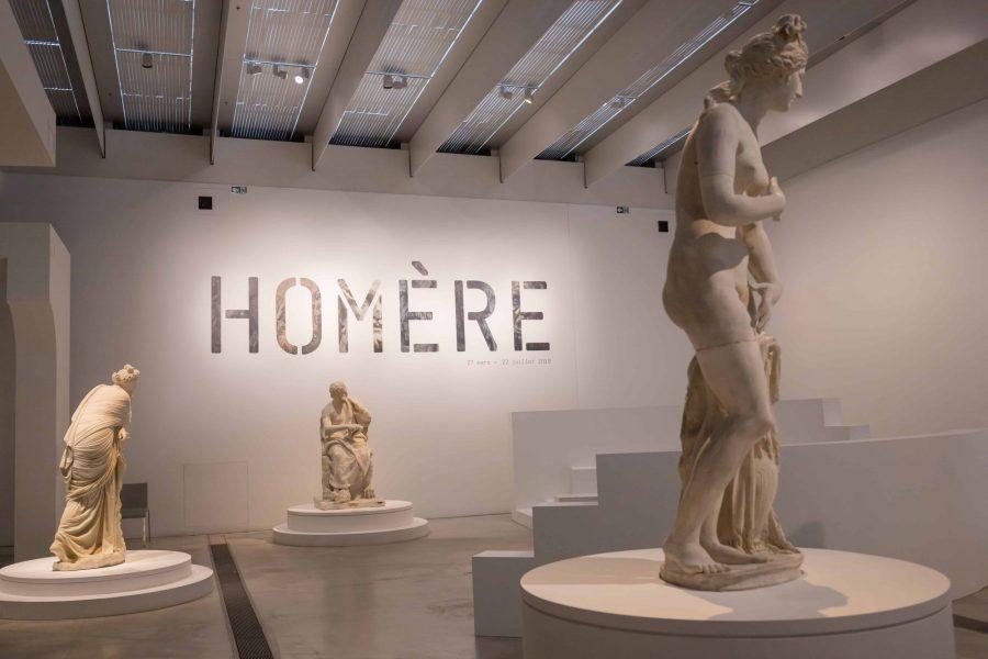Exposition Homère au musée du Louvre Lens