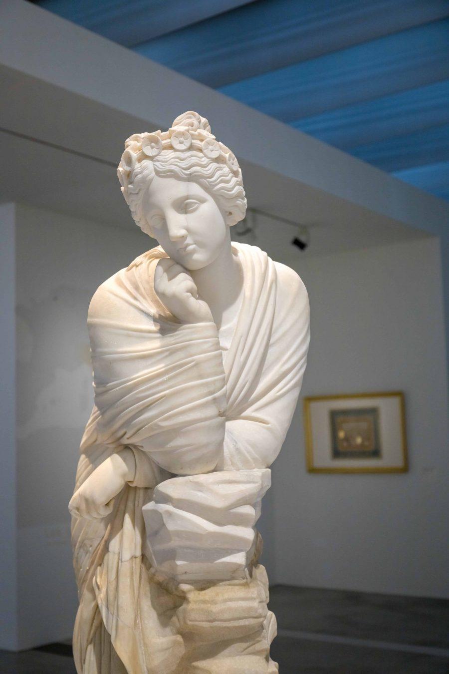 Déesse au musée du Louvre Lens