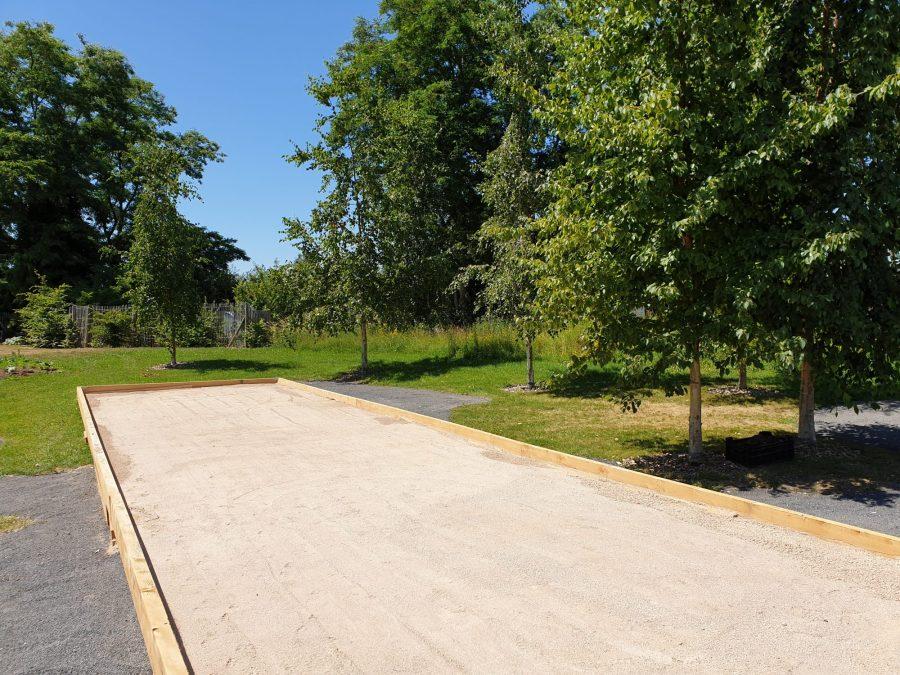 Terrain de pétanque à Parc en fête à Lens