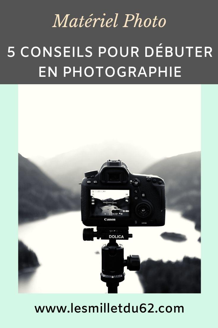 Epingle pinterest 5 conseils pour débuter en photographie