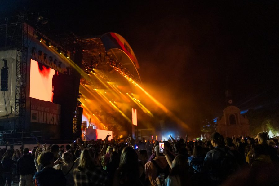 Concert au Mainsquare à Arras