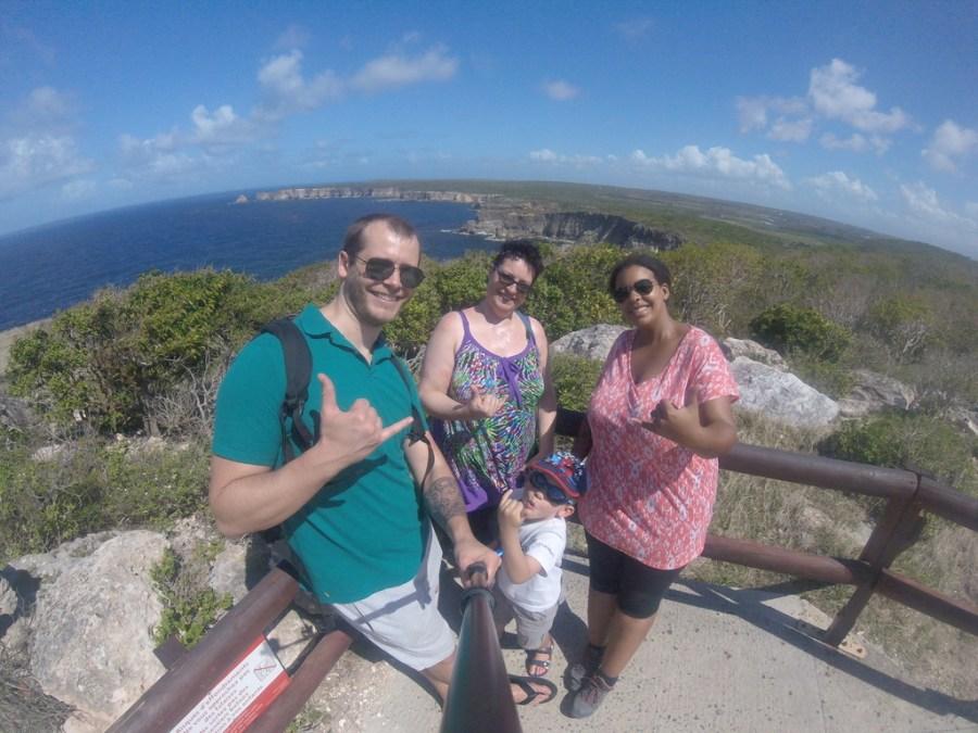Photo fisheye à la gopro en Guadeloupe