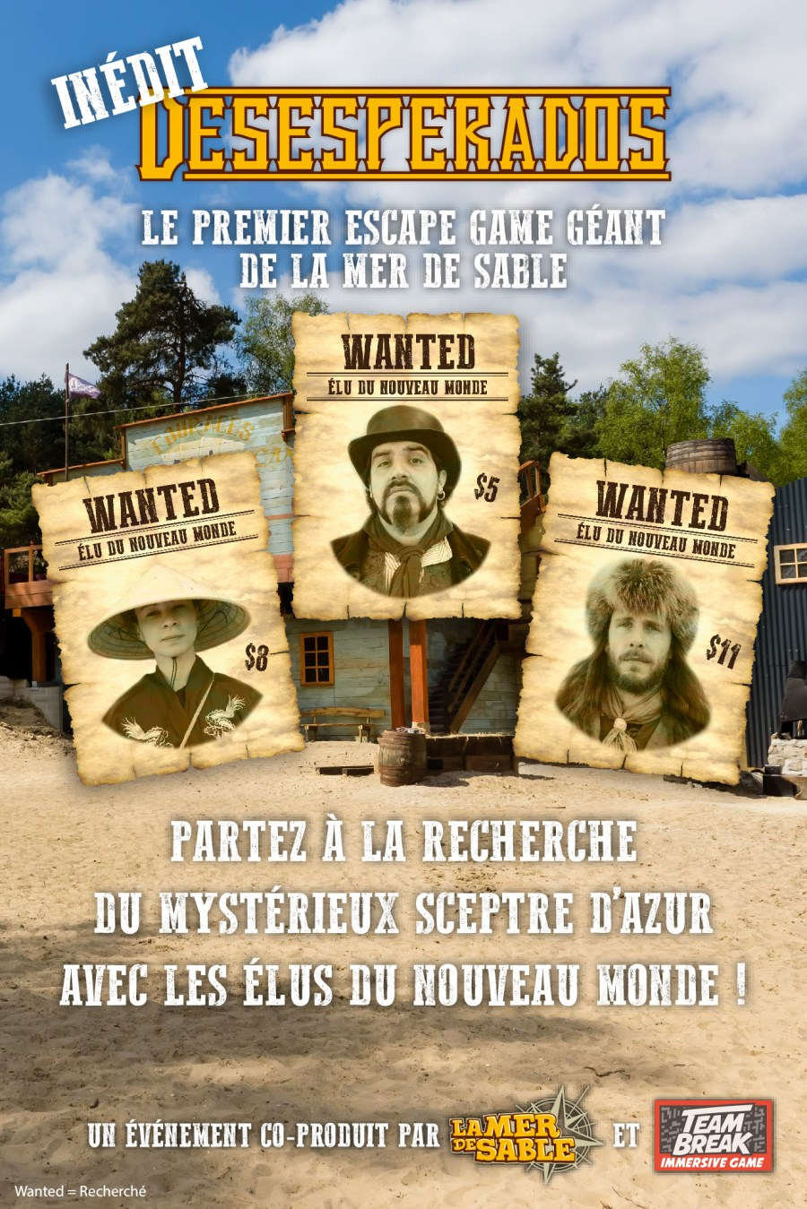 Escape game géant à la Mer de Sable