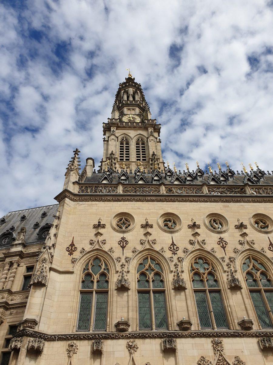 Beffroi d'Arras inscrit au patrimoine mondial de l'UNESCO