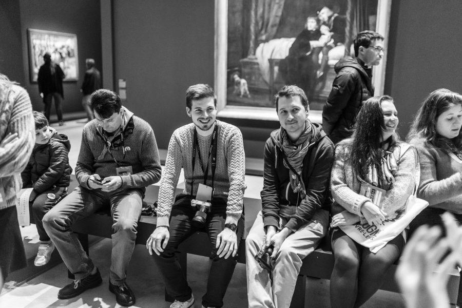 Des blogueurs voyage au Musée du Louvre Lens