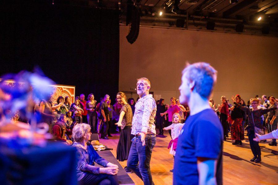 Danse polonaise au musée