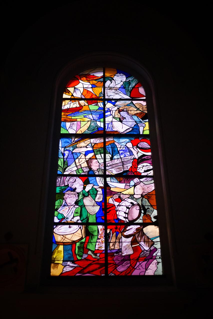 Vitraux de l'église Saint Amé de Liévin