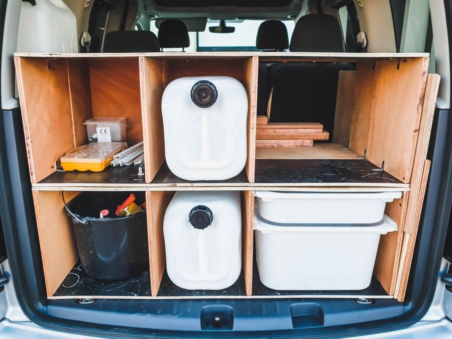 transformer sa voiture en mini camping car