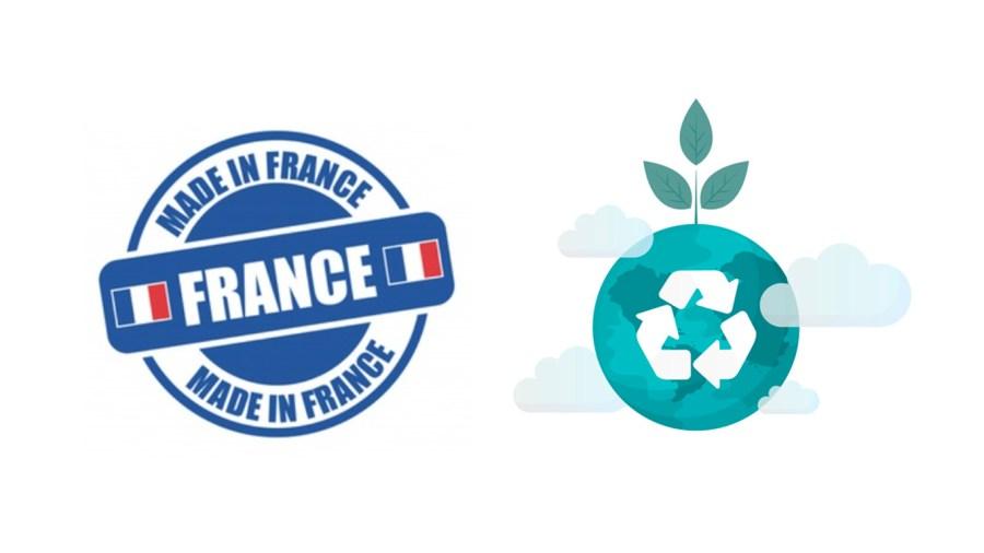 Fabriqué en France et avec des matériaux recyclés