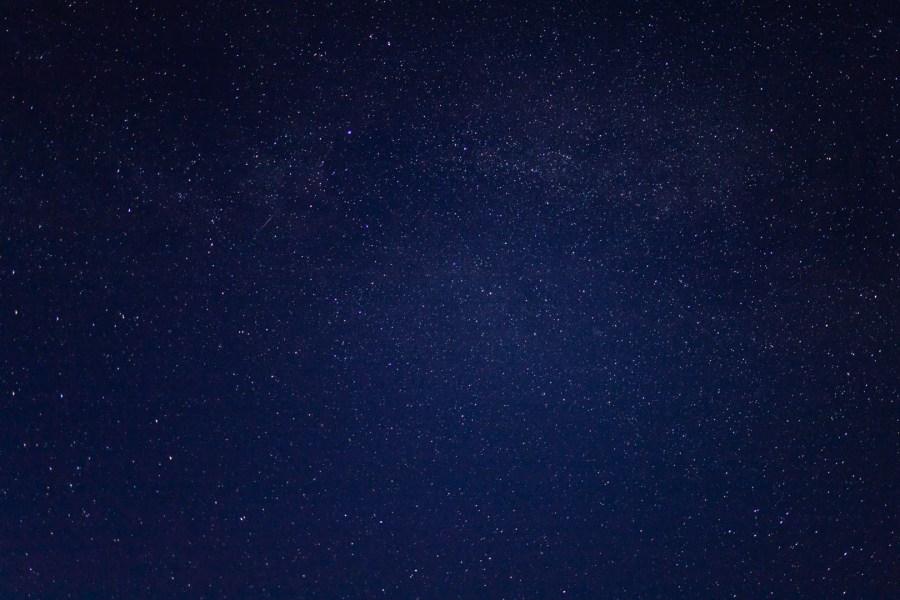 Les étoiles dans le ciel des Hauts de France