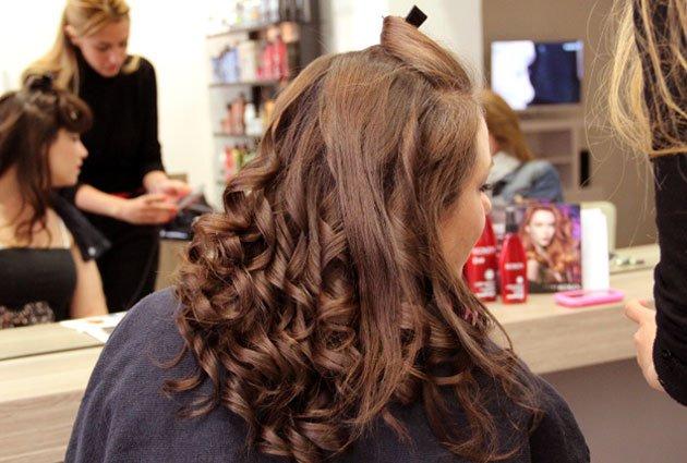 Ma coiffure de mariage chez inspirations - Salon du mariage grenoble ...