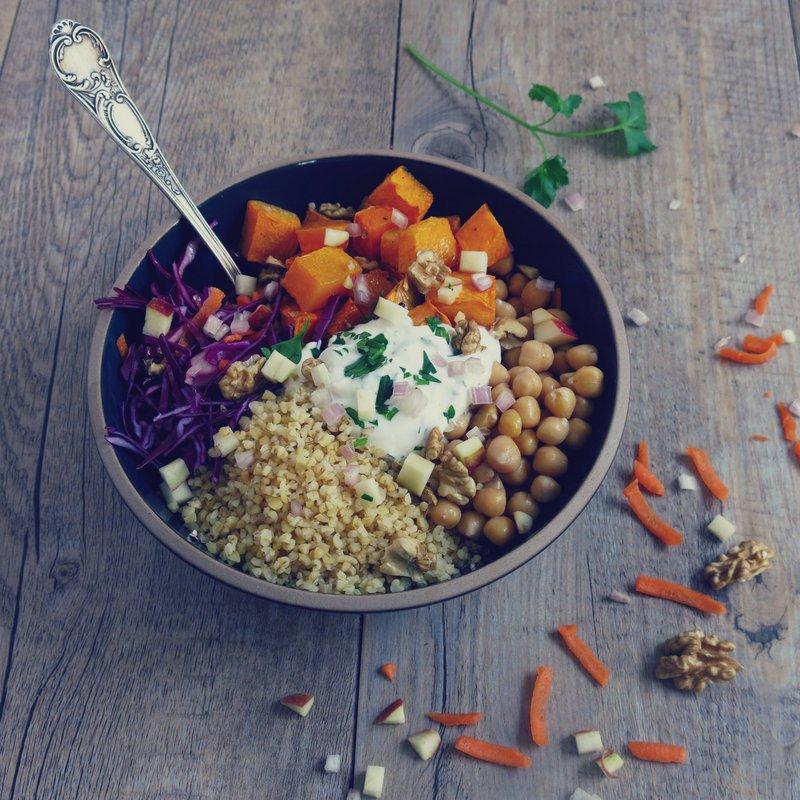 veggie bowl Lesmondaines