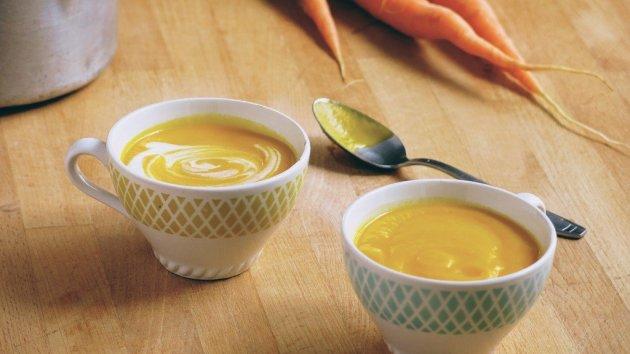 Soupe de carottes pour hivers grenoblois