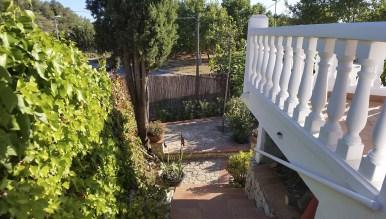 Les Moreres de Sitges. Escalera