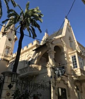 Edificios modernistas en Sitges