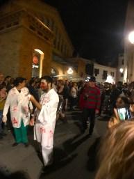 Robert Englund (Freddy) en la Zombie Walk de Sitges